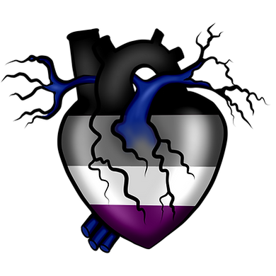 Asexual Pride Heart