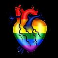 Pride Heart LGBTQIA+