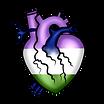 Genderqueer Heart