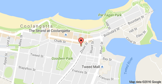 Our Coolangatta locations address