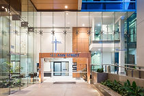 The entrance to our Brisbane site