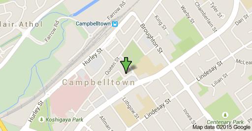 Campbelltowns location address