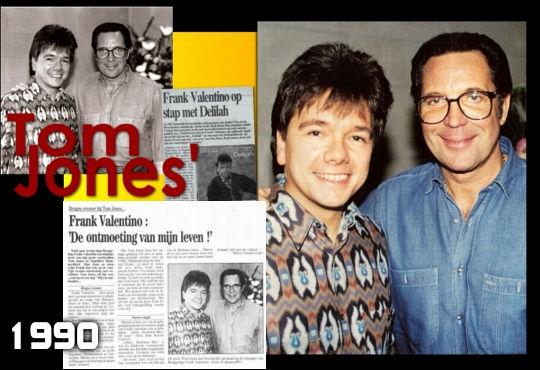 Tom Jones Frank Valentino
