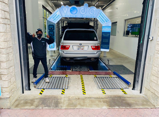 How Express Car Washes Continue to Thrive During the COVID-19 Pandemic