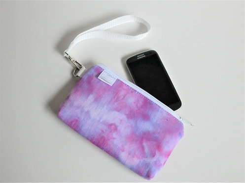 Violet purple wristlet