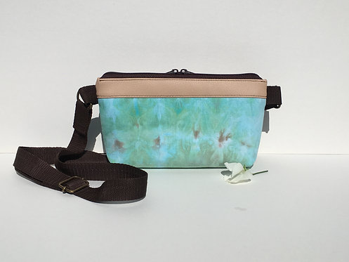 One of a kind crossbody wallet - small crossover purse
