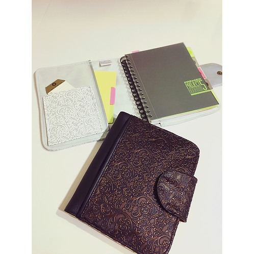 A5 organizer / notebook or diary cover