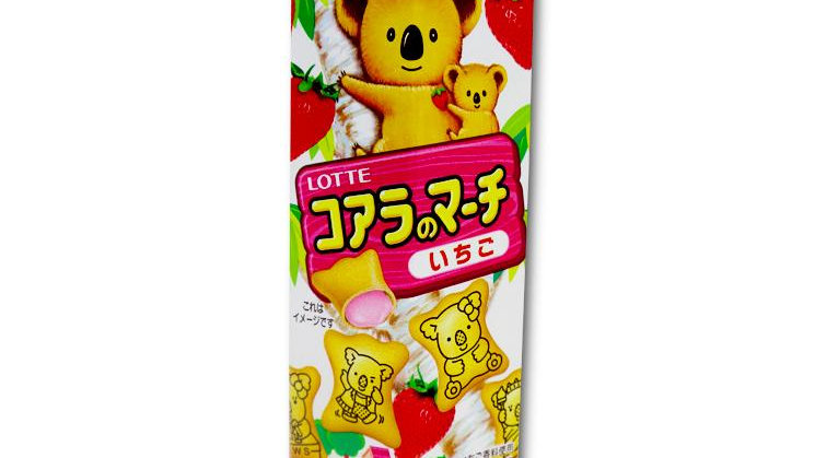 Lotte Koala no March Ichigo  50g