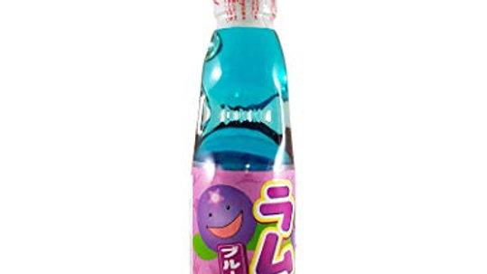 Hatakosen Ramune Soda - Blueberry 200ml.
