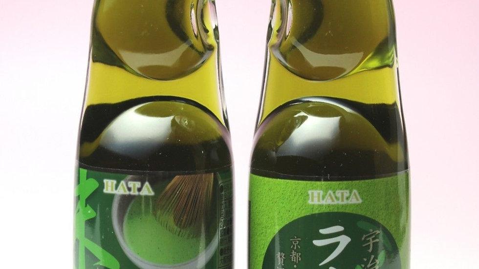 Ramune Hatakosen Green Tea 200 ml.