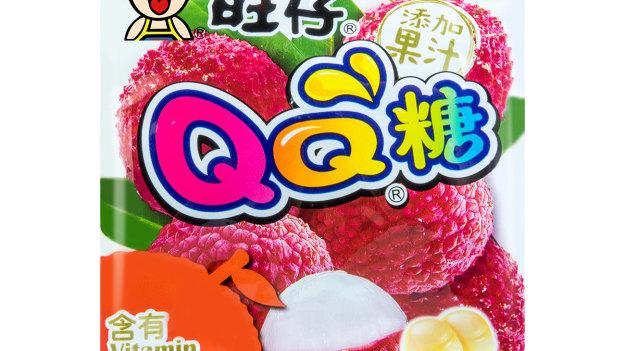 Hot Kid QQ Gummy Candy Lychee Flavour 70g