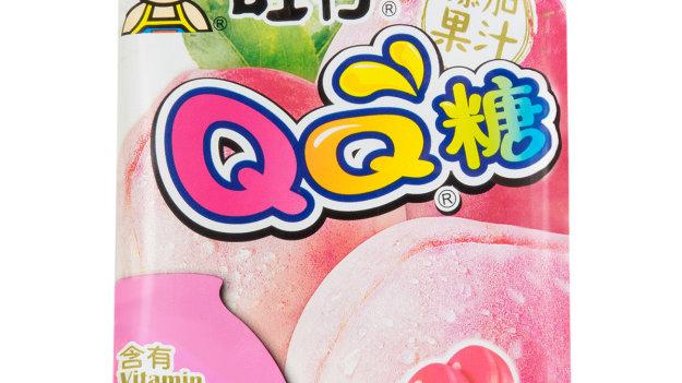 Hot Kid QQ Gummy Candy Peach Flav. 70g