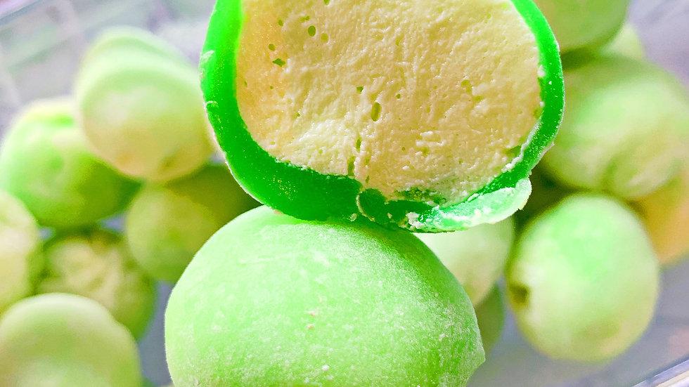Kivi saldējums/Kiwi ice cream mochi
