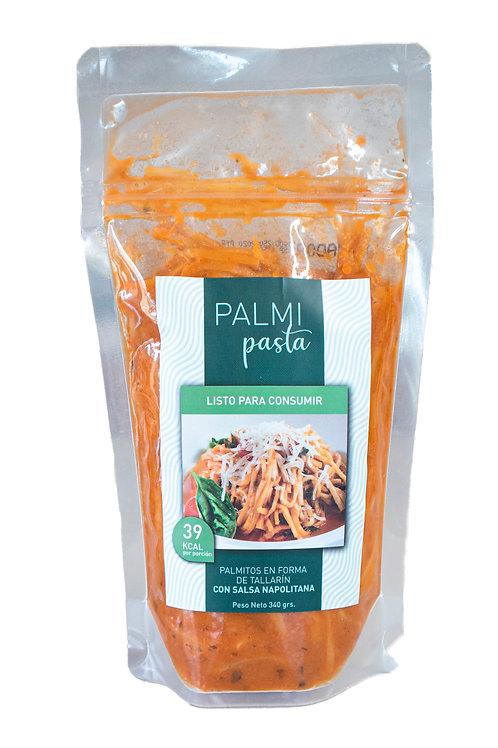 Tallarines de Palmito con Salsa Napolitana - Para Servir -340 grs - Palmipasta