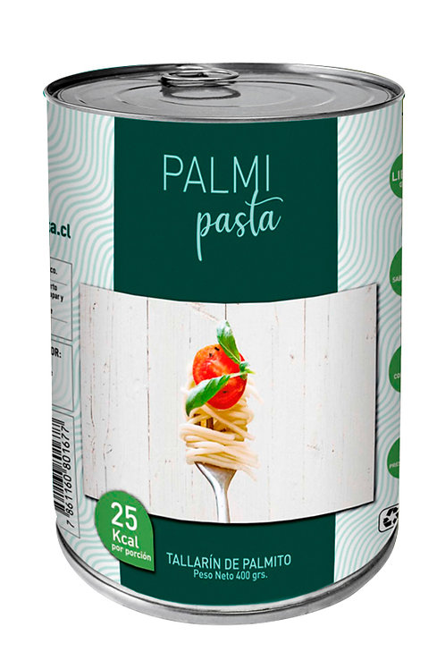 Tallarines de Palmitos -  400 Gramos - Palmipasta