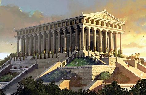 Temple d'Artémis à Ephèse  (Source:www.merveilles-du-monde.com) alainnadaud.com
