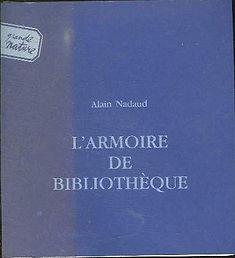 L'armoire de bibliothèque, Alain Nadaud, alainnadaud.com