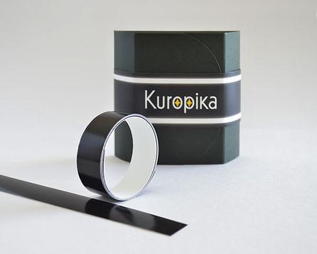 黒い再帰性反射材Kuropika