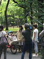 NHK「あさイチ」chibitoポンチョ取材