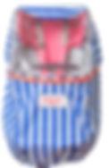 フロントチャイルドシート用レインカバー chibito