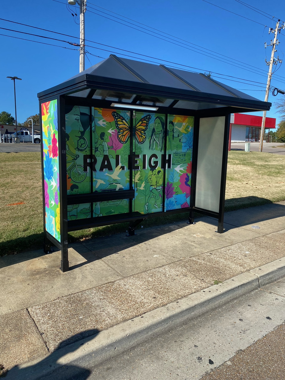 Project 1: Bus Shelters