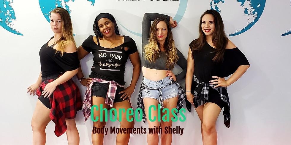 Choreo Class, Body Movements with Shelly