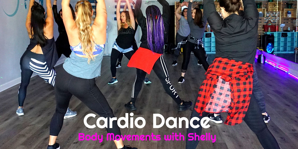 Cardio Dance with Body Movements with Shelly