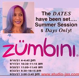 Zumbini® Sept. 23 Session
