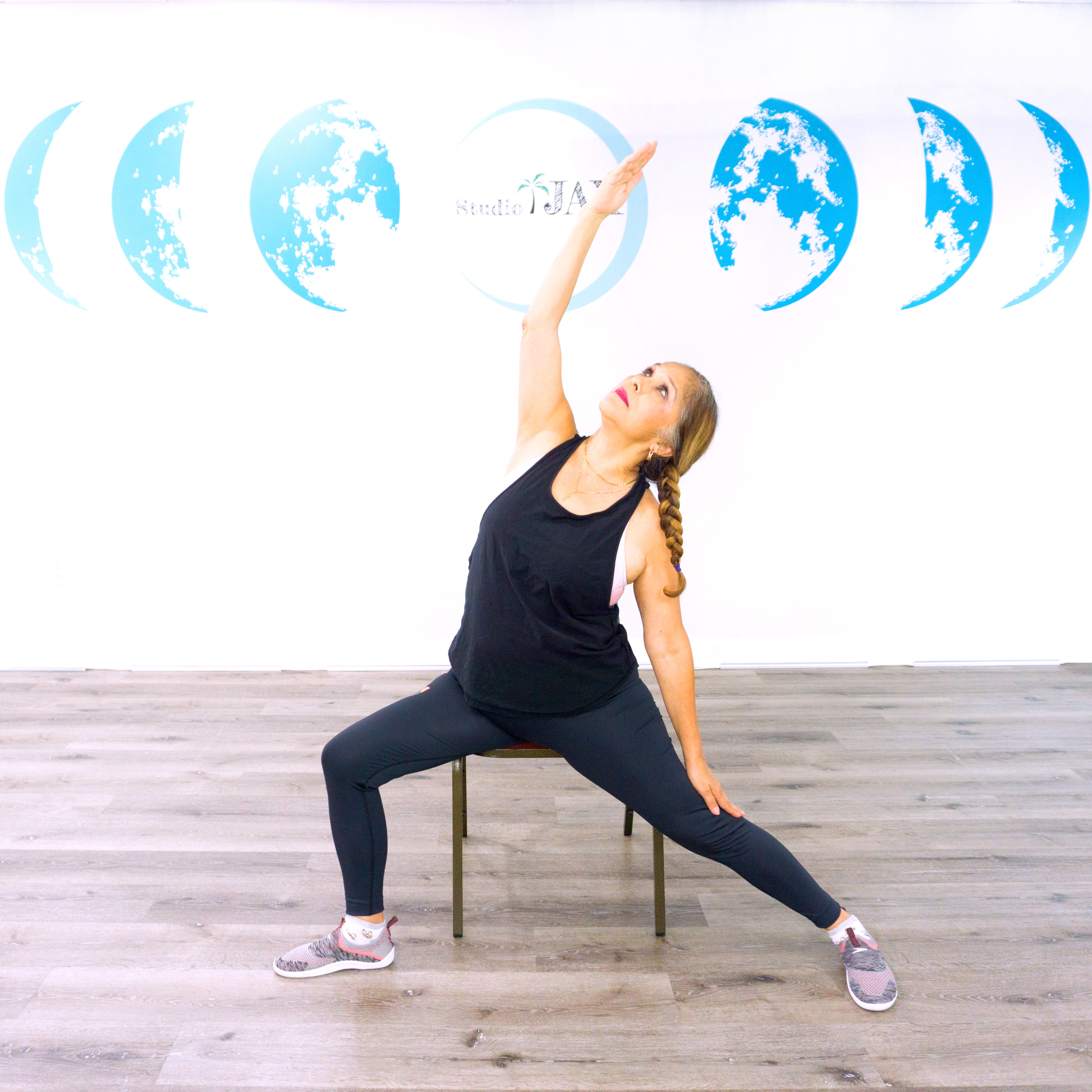 LV Chair Yoga