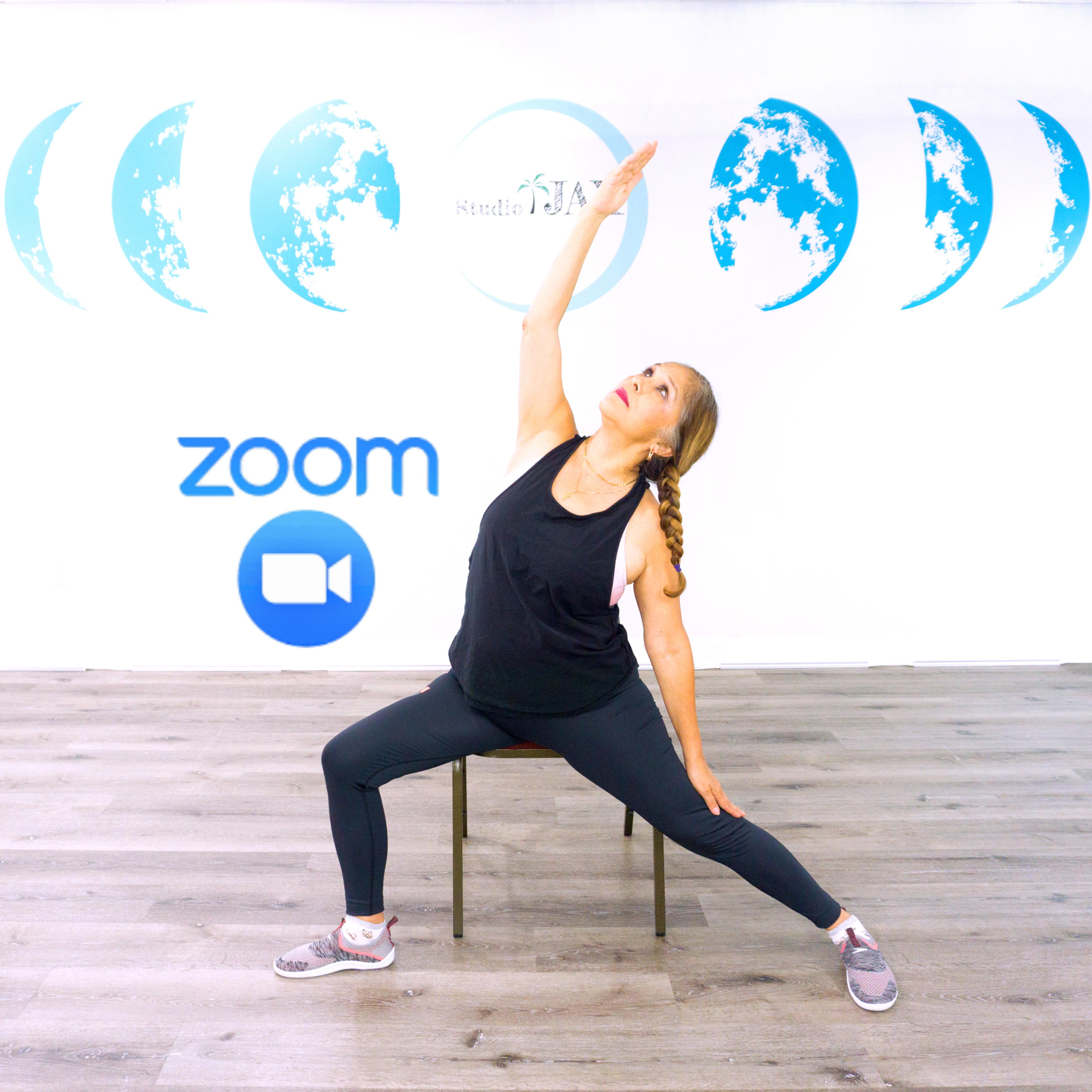 (Zoom Class) LV Chair Yoga