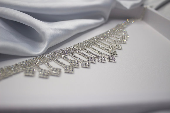 Diamond Hanging Chocker