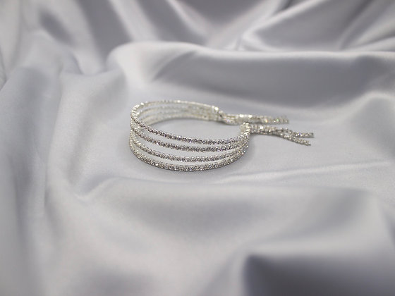 Diamond Hanging Bracelet