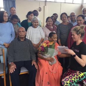 Mrs Patel Celebrates her 90th Birthday