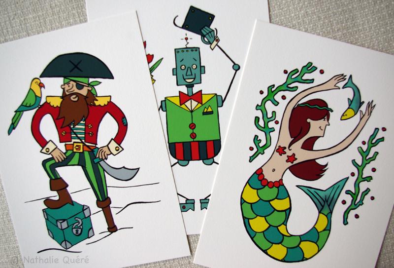 Pirate, robot et sirène