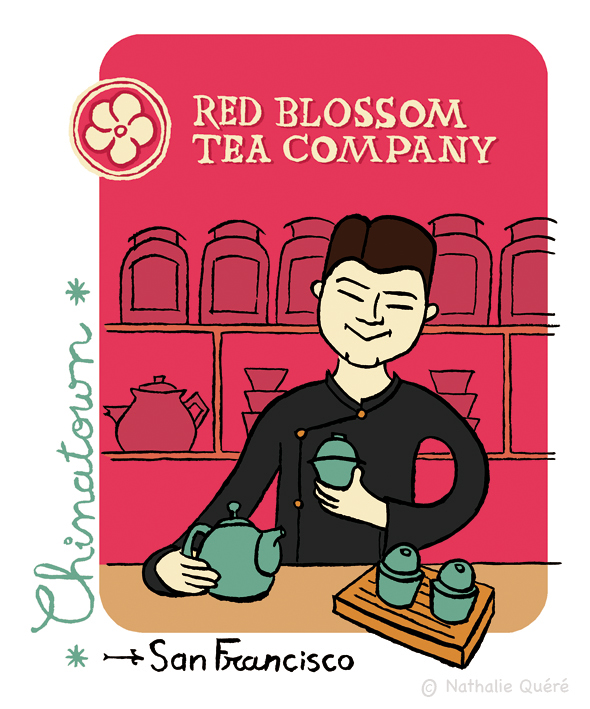 Red Blossom tea compagny