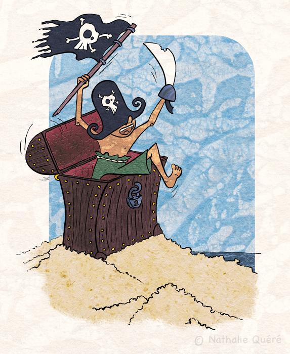 Un trésor de pirate