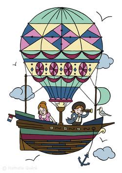 Le voyage en montgolfière
