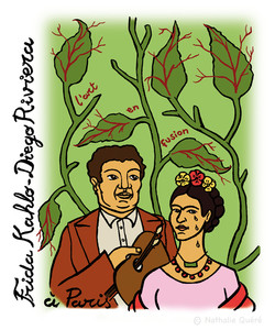 Frida Khalo et Diego Riviera