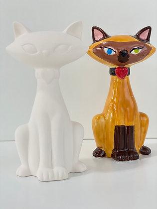 Elegant Cat Figure