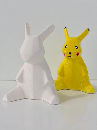 Origami Rabbit Figure