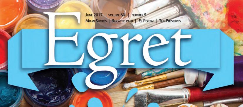 Artsy Hive on Miami Shores Egret Magazine
