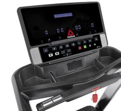 Console treadmill design detail
