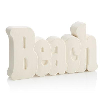 """""""Beach"""" Decor Plaque"""