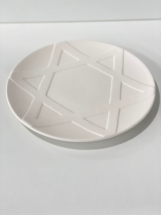 "10"" Star of David Plate"