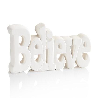 """""""Believe"""" Decor Plaque"""