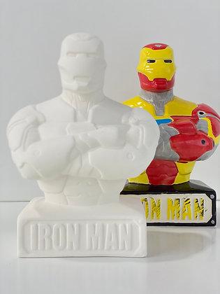 Iron Man Bust bank