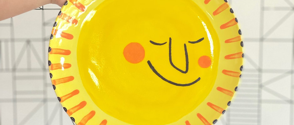 Step-by-Step Project: Sunshine Plate