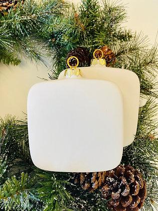 Square Ornament Set of 2