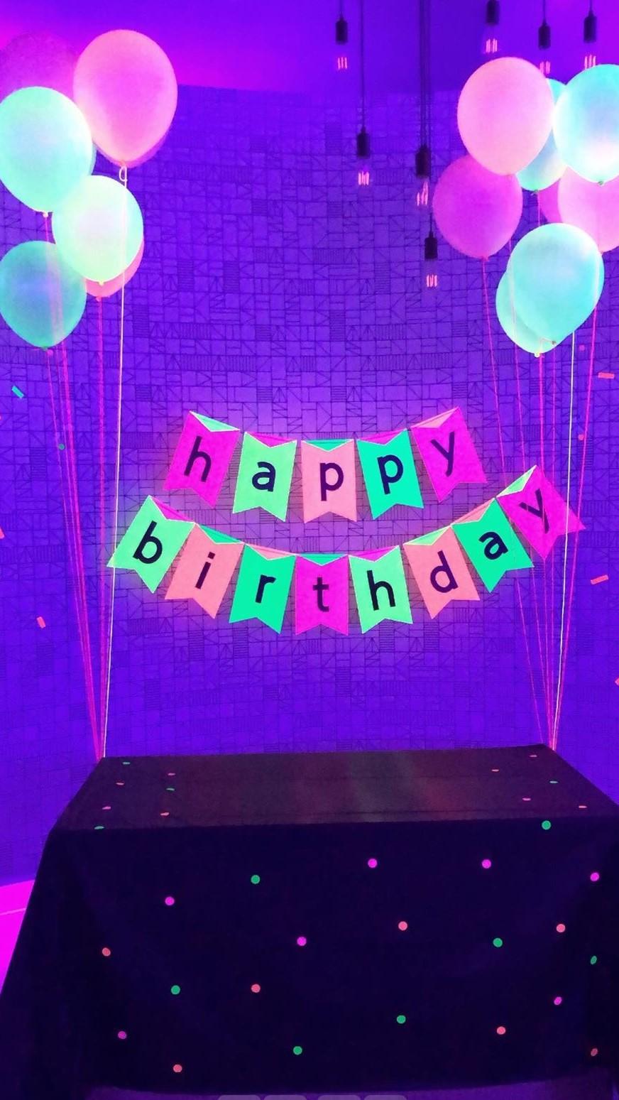Artsy Hive GLOW Birthday Party