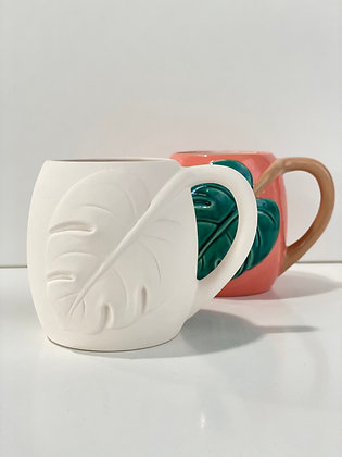 Monstera Leaf Mug